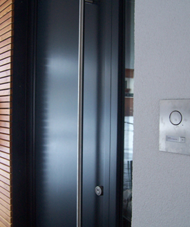 Energy-efficient doors made in europe.