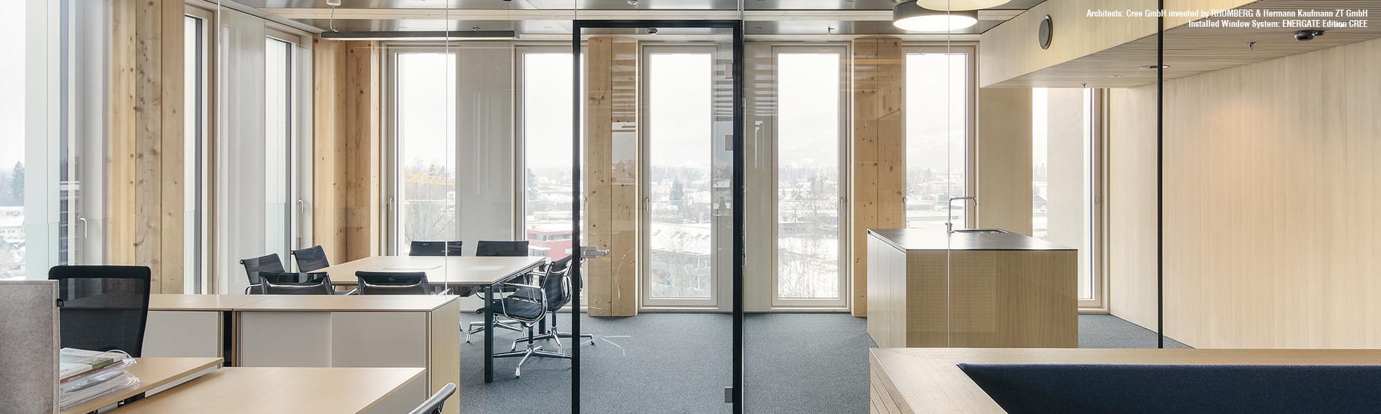 Pioneers in building energy efficient window and doors.