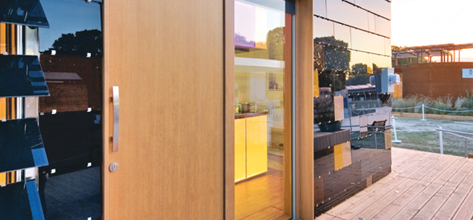 Energy-efficient doors from ENERGATE.