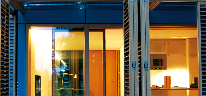 Quality lift-and-sliding doors with the best insulation value from ENERGATE.