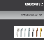 Matching design handles for ENERTGATE energy-saving windows.
