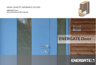 ENERGATE Main Entrance Doors